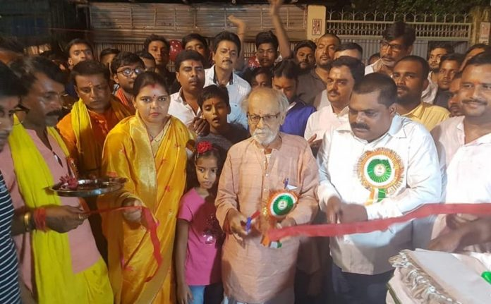 ex-mayor of Purnia Smt Vibha Kumari inaugurated Mahaganpati Mahotsav -IndiNews -इंडी न्यूज़