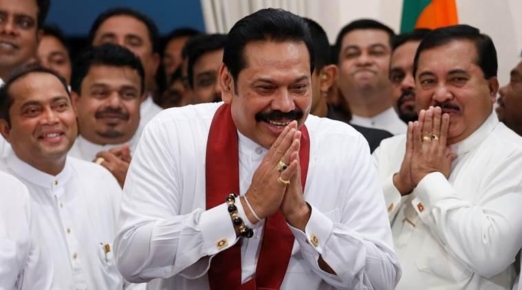 Mahinda Rajapaksa-Constitutional Crisis in Sri Lanka-IndiNews-