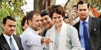 Rahul-Priyanka-Finally, Priyanka Takes The Plunge-IndiNews