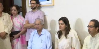 Priyanka Chaturvedi joins Shiv Sena in presence of party chief Uddhav Thackeray