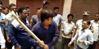 Akash-Vijayvargiya-bjp-leader-kailash-vijayvargiyas-son-beaten-officials-with-bat-in-indore