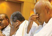 congress jds ke hath se fisal rahi karnatak sarkar 22 mantri ka istifa