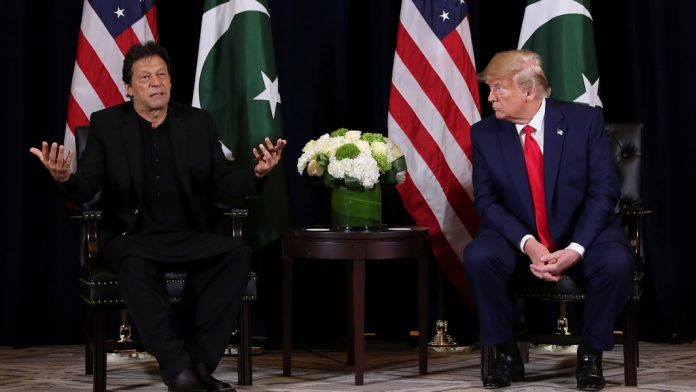 WHERE YOU FIND REPORTERS LIKE THIS trump to Imran khan-IndiNews