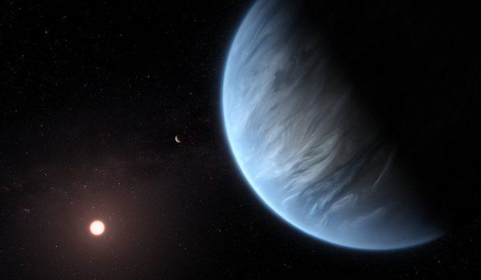 scientist onfirmed-the-presence-of-water-vapor-in-atmosphere-of-an-exoplanet-k2-18b-super earth par pani ki khoj-वैज्ञानिकों ने पहली बार सौर मंडल से दूर एक ग्रह के वायुमंडल में जलवाष्प की पुष्टि की है-IndiNews