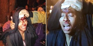 JNU violence ke 5 minute bad jnusu-president-aishe-ghosh-par-2 FIR-IndiNews